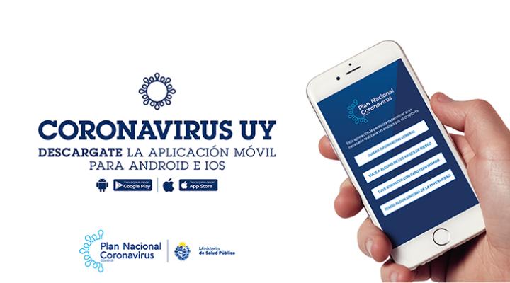 aplicación movil coronavirus