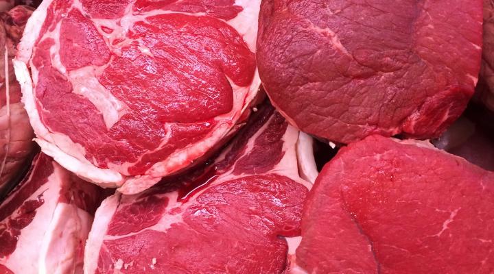cáncer carne roja